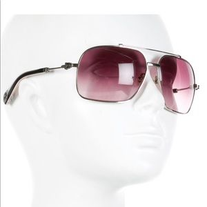 CHROME HEARTS sunglasses QUICKIE silver purple